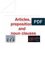 Articles_ Prepositions and Noun Clauses