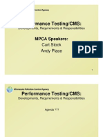MPCA-PerformanceTestingSession Presentation Interesting