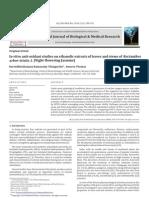 In Vitro Anti-oxidant Studies on Ethanolic 7