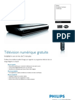 Decodeur TNT Philips Hf8095