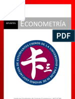 Apuntes de Econometría
