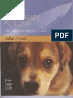Minor Veterinary Surgery