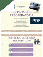 PREPARACIÓN PREOPERATORIA final