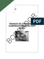 Tensado de Correa Del Compresor Shulz