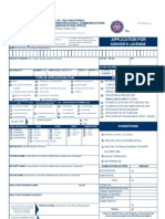 License / Permit Application Form