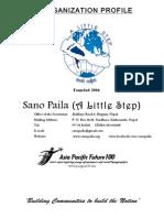 Sano Paila Profile 2011