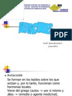 Autacoides 2011