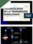 FARMACOLOGIA DE LA TRANSMISIÓN GANGLIONAR