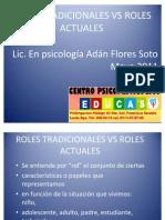 Roles Tradicionales vs Roles Actuales