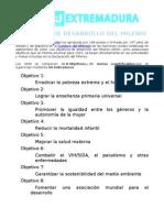 05-M+JExtremadura- ObjetivosdelMilenio