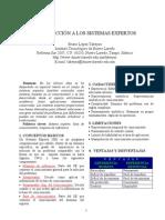 Articulo-Introduccion a Los Sistemas Expertos (2004-I)