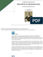 8761180 Rimsky Korsakof Orchestration Printed Version
