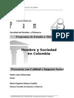 Hombre y Sociedad en Colombia