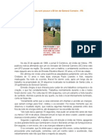 Pecuarista viu óvni pousar a 20 km de General Carneiro - PR