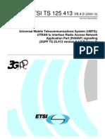 ETSI TS 125 413 V8.4.0