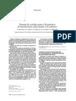 Naranja de acridina para el diagnóstico de las bacteriemias relacionadas con catéteres