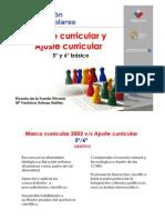 Ajuste Curricular 5y6