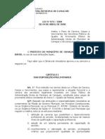 Lei 874 - 2008 - PCCV Geral