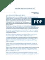 Historia de La Educacion Chilena