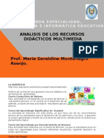 Analisis de Recursos Multimedia