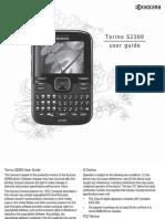 Metro Kyocera Phone s2300 User Guide En