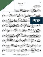 Handel - Sonata Nº 4 D Mayor (Reyna)
