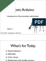 Bionic Arduino Class2