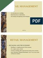 Intro to Retail