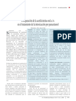 Comparación de la acetilcisteína oral & iv. en el tratamiento de la intoxicación por paracetamol