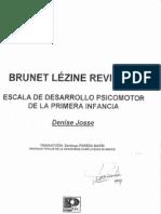 Manual Brunet Lezine