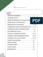 Smart Dust Technology Seminar Report