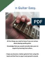 Learn Guitar Easy