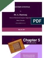 1) Dr. Dastranj, Micro Strip Antenna