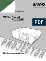 Sanyo PLV-Z5