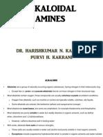 Alkaloidal Amines
