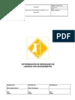 6-PNTDeterminación densidades liquidos con densímetro