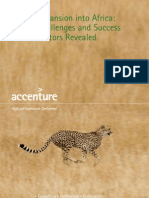 Accenture Strategy Expansion Into Africa POV