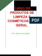 Curso Produtos de Limpeza e cos - Nelson M. de Azevedo