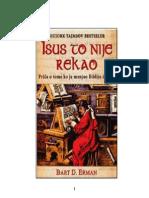 Bart Ehrman - Isus to nije rekao