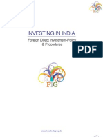 Foreign Direct Investment-Policy