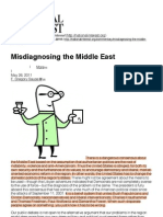 Gause III | Misdiagnosing the Middle East