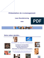 Rc Management Lean Manufacturing