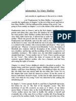 frankenstein essay titles