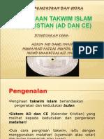 PERBEZAAN KALENDER ISLAM DAN KRISTIAN