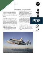 NASA Facts NASA Dryden's Contributions to Spaceflight
