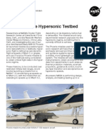 NASA Facts Phoenix Missile Hyper Sonic Testbed