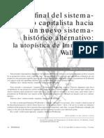 _La Utopistica de Immanuel Wallerstein