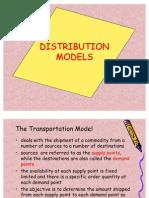 Distribution Models