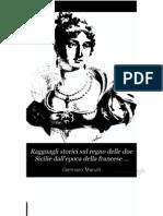 Marulli - Ragguagli Storici Sul Regno Dell Due Sicilie Dal 1789-1815