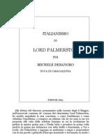 Michele de Sangro - Italianismo Di Gladstone
